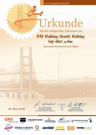 Walking-Urkunde